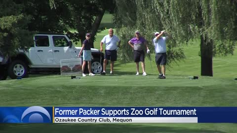 LeRoy Butler attends Mequon golf tournament benefiting Milwaukee's Zoological Society