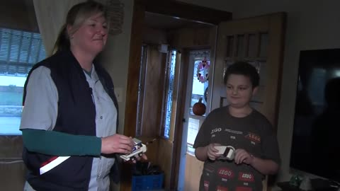 Michelle and Mitchell: 12-year-old and letter carrier form unlikely friendship in Kenosha