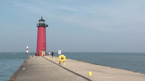 Life preserver rings installed at north pier in Kenosha