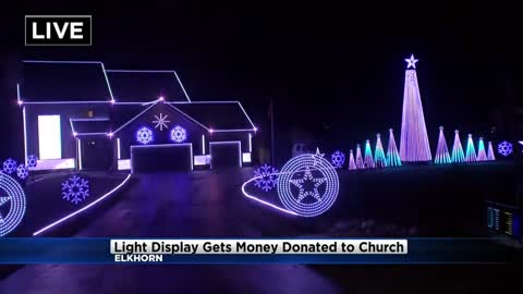 Elkhorn light display helps to spread Christmas cheer throughout...