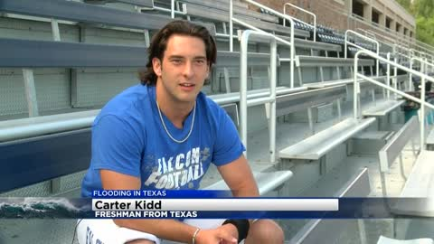 Concordia student-athlete from Houston area supported by teammates, coaches