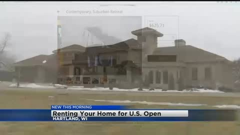 Locals Renting Homes for US Open