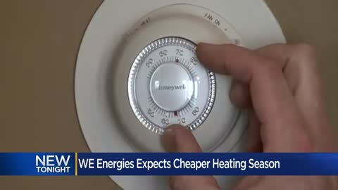 We Energies projects one of lowest heating season costs in 20 years