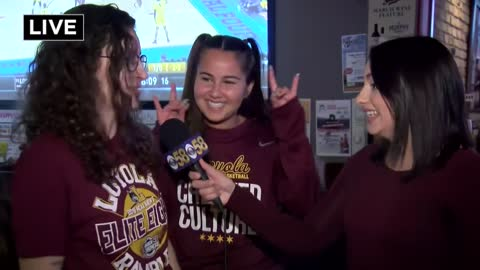 """I couldn't be more proud"": Milwaukee residents cheer on Loyola in the Final Four"