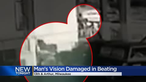 Man's vision damaged in beating near 13th and Arthur