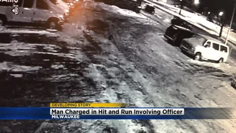 18-year-old charged in hit-and-run involving Milwaukee Police Officer
