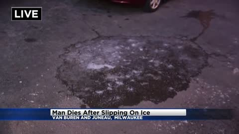 58-year-old man dies after slipping on ice in Milwaukee's East...