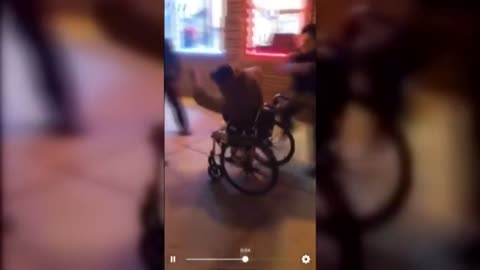 UPDATE: Two security guards accused of punching and kicking man in wheelchair outside Milwaukee restaurant arrested