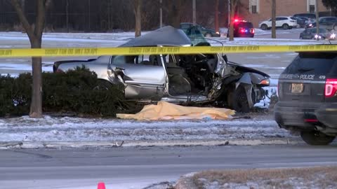 UPDATE: 38-year-old Milwaukee man dead after crash with tree