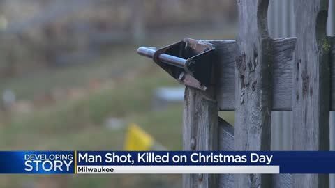 Man dead following Christmas day shooting in Milwaukee