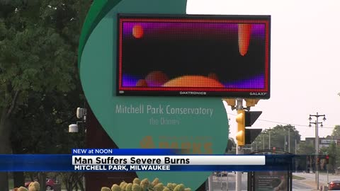 UPDATE: Man burned after getting shocked near Mitchell Park Domes