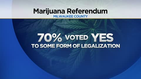 Southeast Wisconsin voters say 'yes' to marijuana legalization on advisory referenda