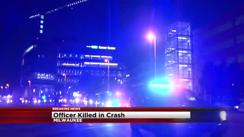 UPDATE: 23-year-old MPD Officer Charles Irvine Jr. killed in squad rollover crash near 76th and Silver Spring