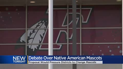 Proposal on banning Native American mascots in Wisconsin schools...