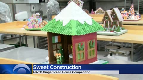 Gingerbread house competition at Milwaukee Public Market highlights...