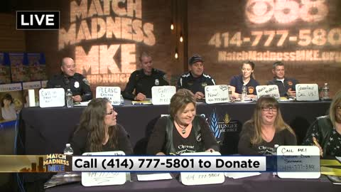 Match Madness helps your dollar become two; Big CBS 58 Phone Bank on Thursday