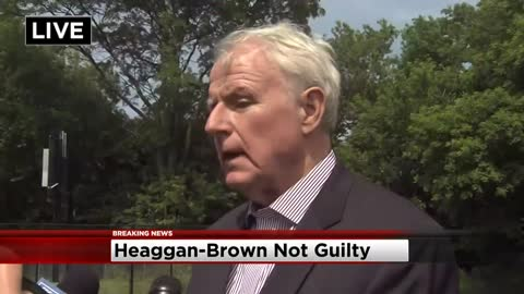 """What we have to do is retain order:"" Mayor Barrett calls for peace following not guilty verdict in Heaggan-Brown trial"
