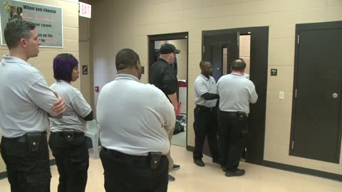 Training session held on use of handcuffs at Milwaukee County Sheriff's Office