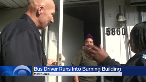 Not all heroes wear capes: MCTS bus driver saves residents after rushing into burning building