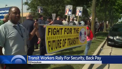 MCTS union workers rally for new contract