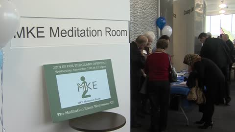 "New ""meditation room"" is now open at Mitchell International Airport"
