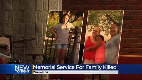 Memorial service held for Waukesha family killed in Minnesota crash