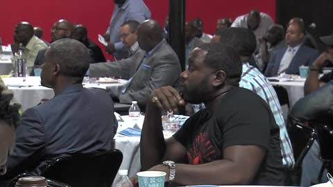Dozens of Black men attend Men of Color Summit to address social issues, bring community together