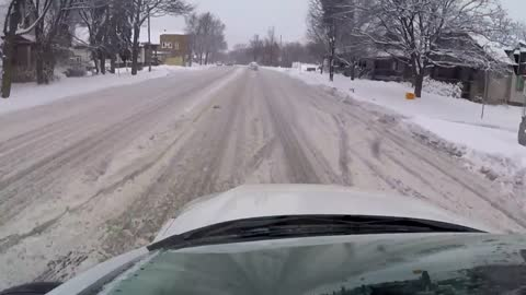 Drivers face slick road conditions Wednesday morning