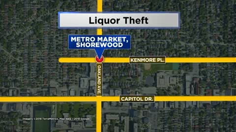 Man steals liquor from Shorewood Metro Market, police looking for suspect