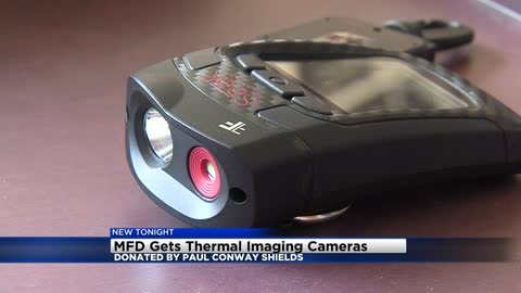 Milwaukee firefighters receive generous donation of new thermal cameras
