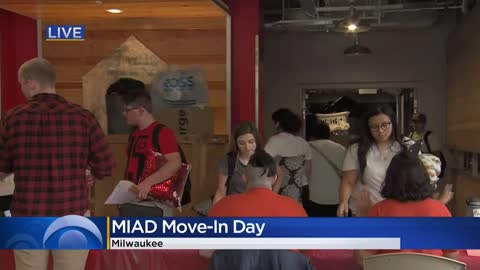 MIAD first-year students move-in, marking record enrollment at...