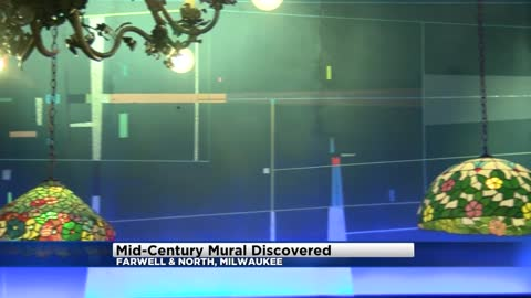 Remodeling project at local bar reveals mid-century mural