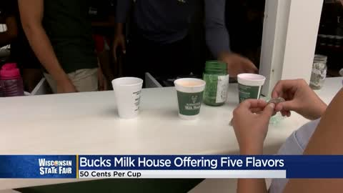 Bucks Milk House returns to State Fair for 31st summer