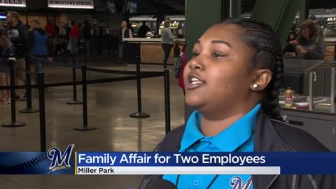 Mother-daughter duo working together at Miller Park for more...