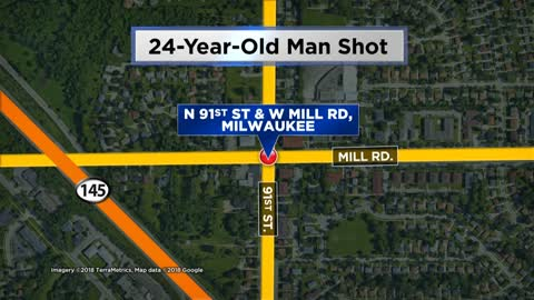 Man hurt, woman arrested after shooting on Milwaukee's north side