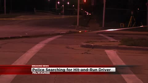 Man seriously hurt after hit and run in Milwaukee, police searching for suspect