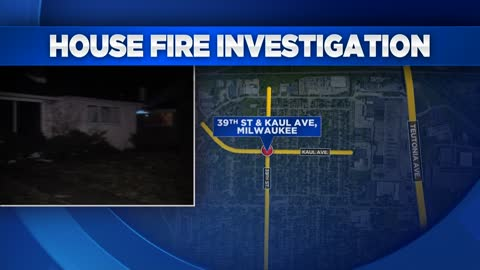 One displaced after house fire near 39th and Kaul early Friday