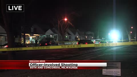 Investigation into officer-involved shooting in Milwaukee underway