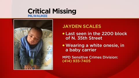 UPDATE: Missing: Milwaukee infant and his mother