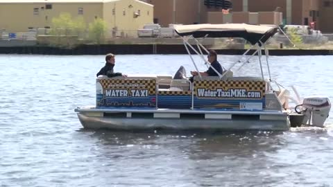 Milwaukee's Water Taxi starts service May 19