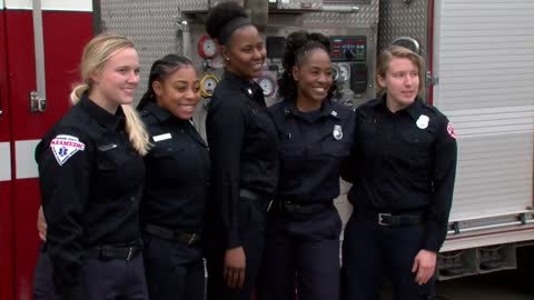 Making history: Milwaukee's first all-female firefighter crew