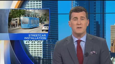 Milwaukee Streetcar installation is making progress in downtown Milwaukee
