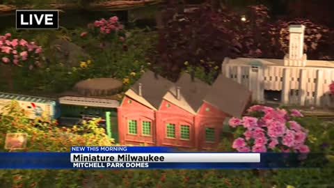 'Miniature Milwaukee' train show on display at Mitchell Park Domes