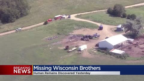 Remains found on Missouri farm in missing Wisconsin brothers case