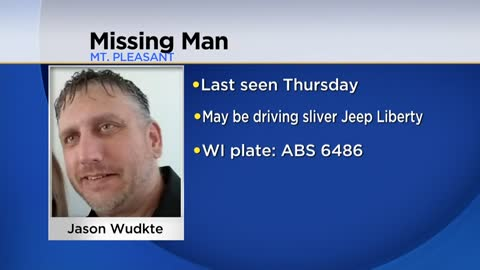 Mt. Pleasant Police looking for missing man