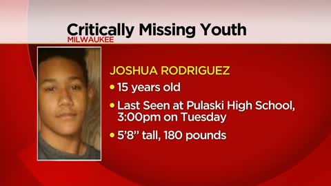 Missing 15-year-old last seen walking near Pulaski High School...