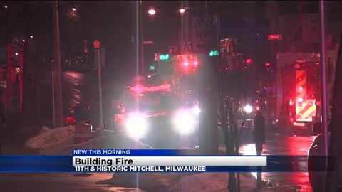Fire breaks out on Milwaukee's southside