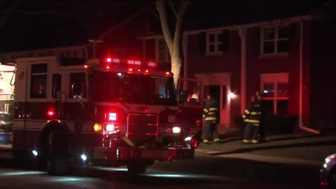 Six displaced, one hurt in Glendale apartment fire
