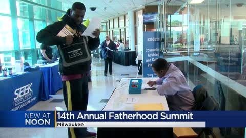 'Trying to better our lives:' 14th annual Fatherhood Summit being held in Milwaukee