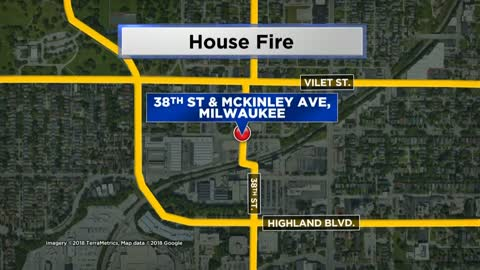 No one hurt in Milwaukee house fire near 38th and McKinley